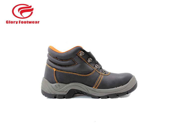 Breathable High Ankle Pu Sole Safety Shoes Popular In Dubai Waterproof  Mesh Lining