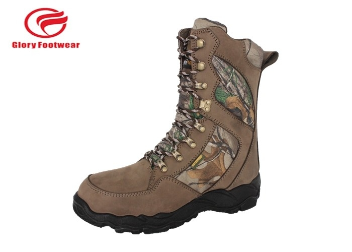 Gear Tex Tie Up High Field And Stream Hunting Boots With Suede Leather Outdoor